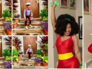 Tonto Dikeh & her son, King Andre stepped out for his school's end of year party