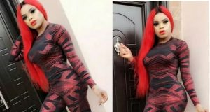 Bobrisky shows off his growing curves