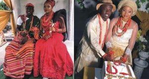 Super Eagles midfielder, Etebo Oghenekaro marries