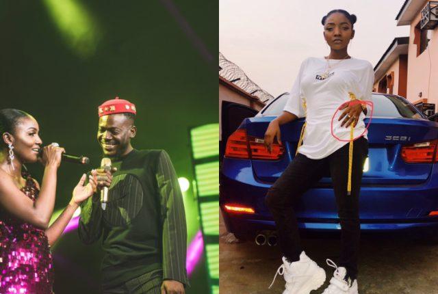 Simi and Adekunle Gold engaged
