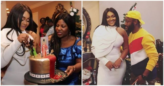Mercy Aigbe's birthday dinner in Los Angeles