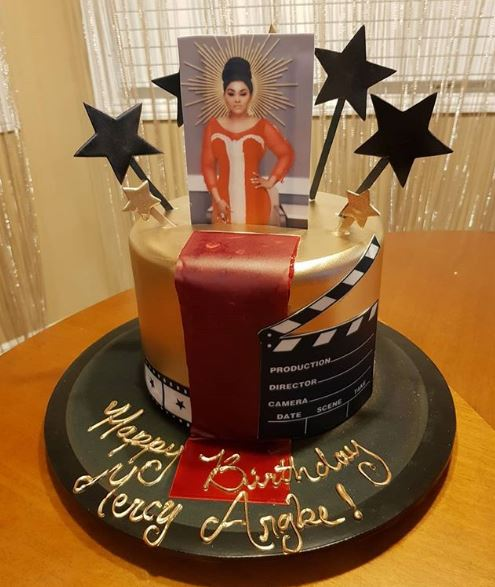 Lovely Photos From Actress Mercy Aigbe's Birthday Dinner
