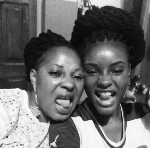 daughter of late actress Moji Olaiya