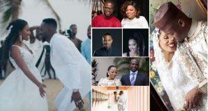 Nigerian Celebrities who had secret weddings (PHOTOS)