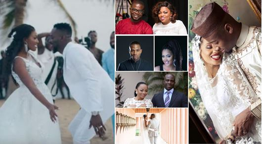 Nigerian Celebrities who had secret weddings (PHOTOS)