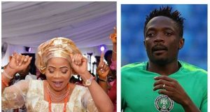 Ahmed Musa's mother is dead