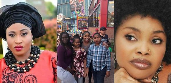 Lola Alao and Aishat's kids