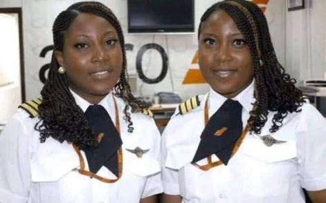 first twin airline pilots