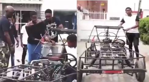 19-year-old Nigerian genius, ACC Wizzy who made a car