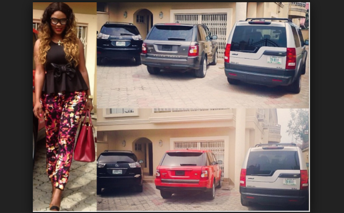 Nigerian female celebs that drive the most expensive cars theinfong.com 700x433