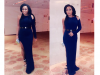 Rita Dominic's stunning look to Ebuka and Cynthia's wedding theinfong.com 700x441