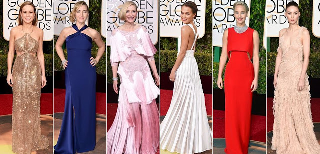 Beautiful photos from the Golden Globes awards 2016 theinfong.com
