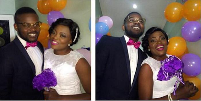 Beautiful photos of actress Funke Akindele wedding theinfong.com - 700x353