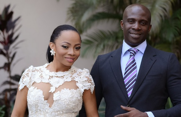 See photos of Toke Makinwa's husband, Maje Ayida & the side chick pregnant for him 700x456 theinfong.com