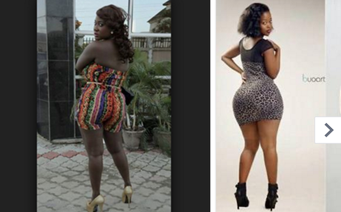 Female celebs in Africa with biggest butts theinfong.com - and mercy johnson 700x435