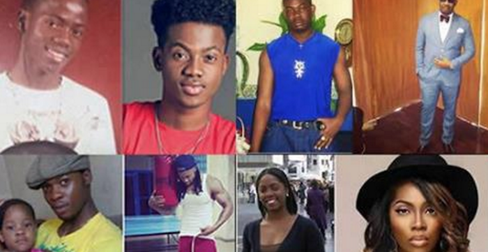 7 Nigerian celeb throwback photos that proves no one was born ugly, just broke. theifnong.com 700x361