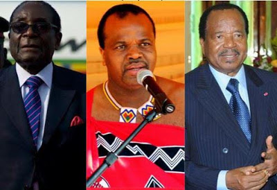 Africa's current longest serving leaders - #3 will knock ...