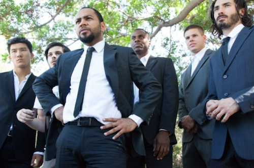 Ramsey Nouah in a movie