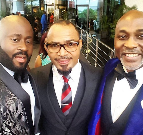 Desmond Elliot, Ramsey Nouah and RMD THEINFONG