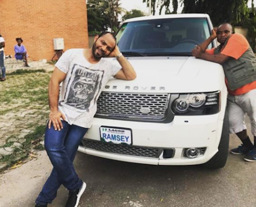 Ramsey Nouah car theinfong