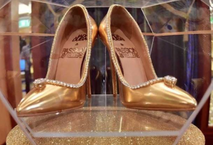 Most expensive shoe in the world sells for $17 million theinfong