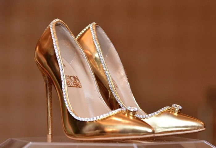 Jada Dubai, most expensive shoe in the world