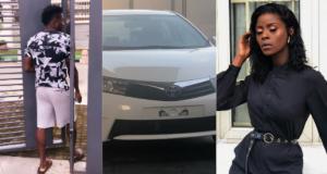 Obafemi Martins buys Khloe a car theinfong