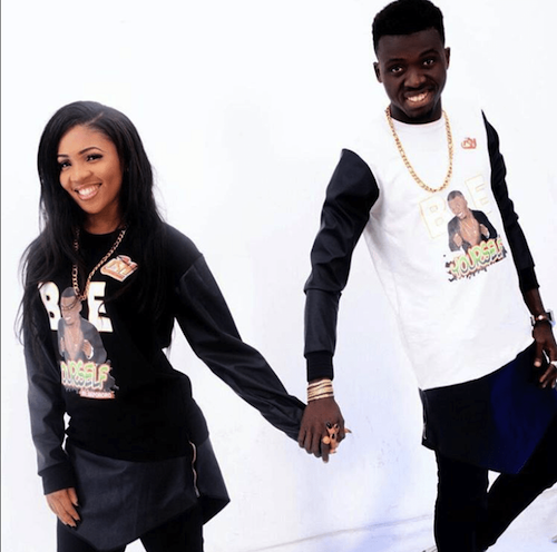Akpororo and wife theinfong