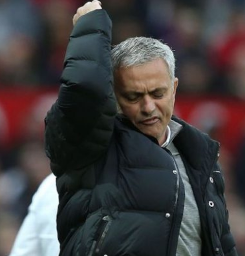 Mourinho frustrated