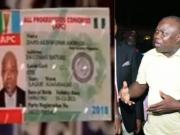 Governor Ambode abandons APC membership card