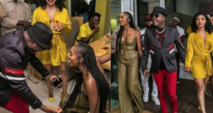 Shina Peters blesses Tiwa Savage