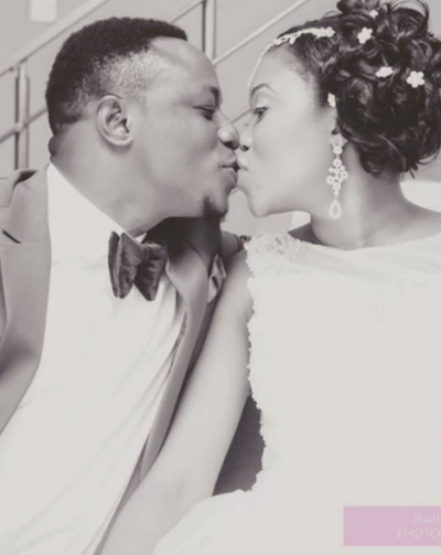 Chuddy K and wife wedding