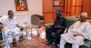 Buhari's meeting with Tinubu