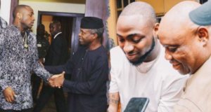 Davido and Osinbajo