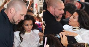 Kim Kardashian and Pascal Duvier - Ex bodyguard