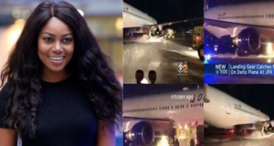 Yvonne Nelson escapes death
