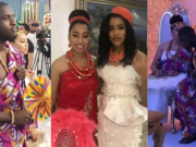 Pastor Oyakhilome's daughter, Sharon and Philip's traditional wedding