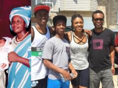 Omoni Oboli and family