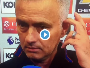 Mourinho's very emotional post match interview