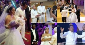 Photos from the Royal white wedding of Sharon Oyakhilome and Philip Frimpong