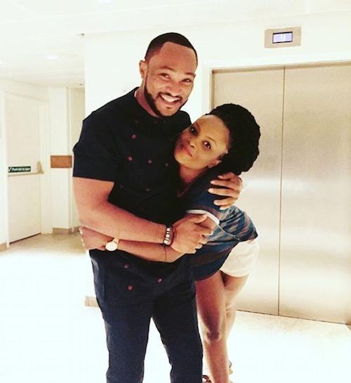 Blossom Chukwujekwu and wife, Maureen Esisi
