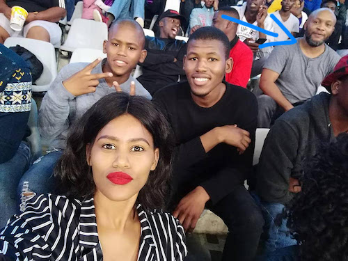 Love story of man who married a woman he photobombed her picture at a stadium