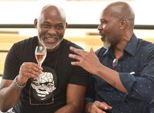 Richard Mofe Damijo (RMD) at Dakore Egbuson Akande's birthday party