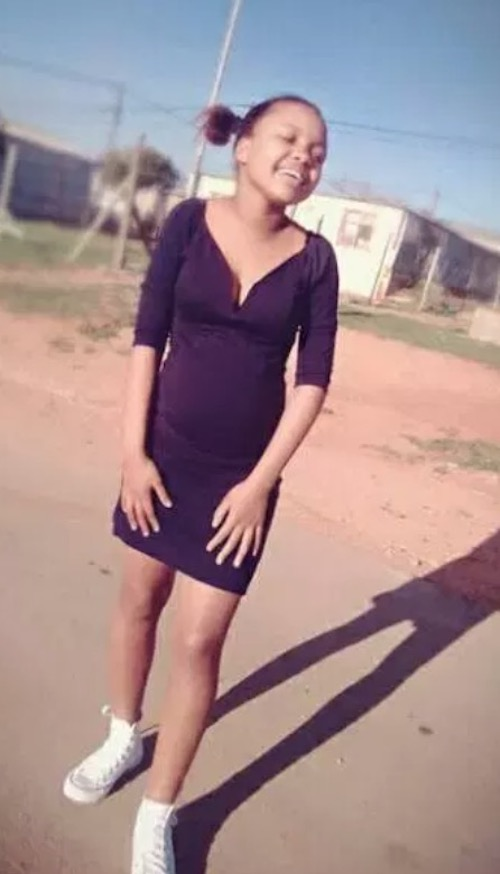 12 year old pregnant South African girl