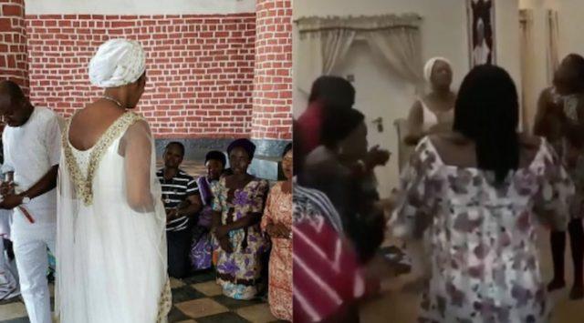 Olori Shilekunola Naomi turns Ife palace to Church