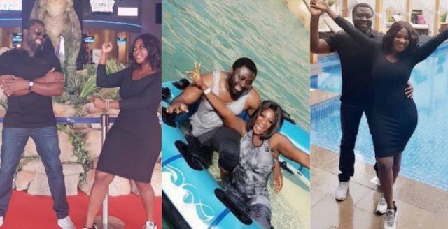 Mercy Johnson and prince in Dubai Valentine's day