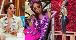 Toke Makinwa talks husband