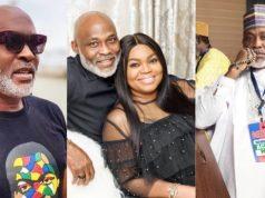 RMD celebrates wife, Abike