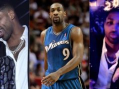 Gilbert Arenas, Tristan Thompson and Khloe