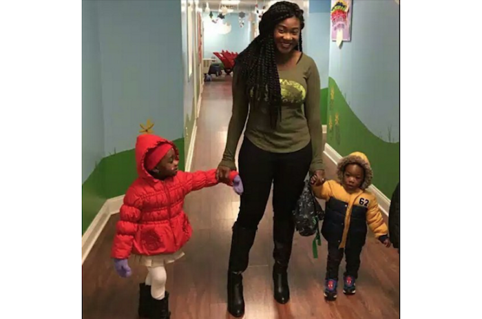 Mercy Johnson Okojie takes her adorable kids to school (Photos) theinfong.com 700x463